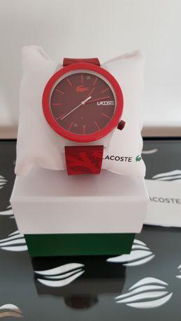 Zegarek Lacoste Unisex czerwony