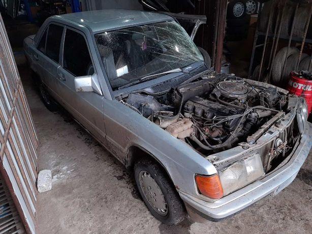 Mercedes W201(190) 2.0 1985 г. По запчастям. После дтп. Разборка