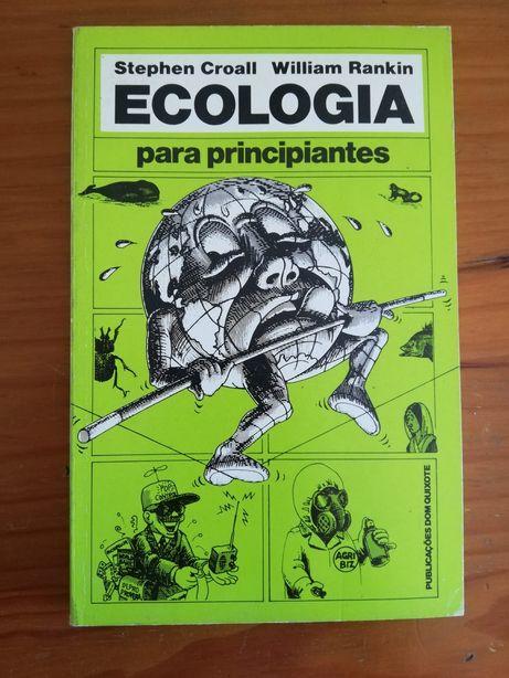 """Livro """"Ecologia para principiantes"""" de Stephen Croall"""