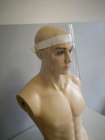 Maska ochronna przyłbica PET maseczka maseczki ochronne WYGODNA