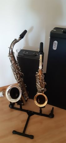 Saksofony alt i tenor