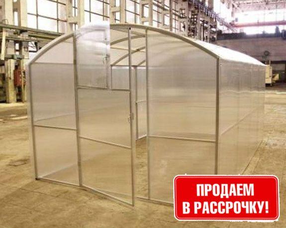 Теплица Урожай ДТ917 Полтава под Поликарбонат 4 мм