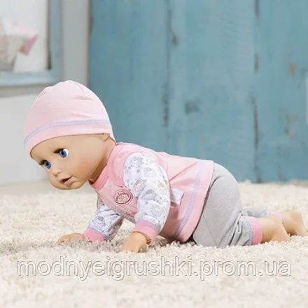 Кукла annabell baby born zapf creation оригинал ползает Учимся ходить