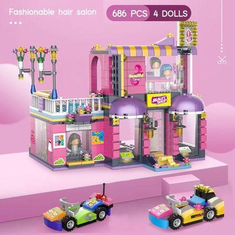 Klocki Salon Fryzjerski z LEGO Friends kompatybilne 686 szt.