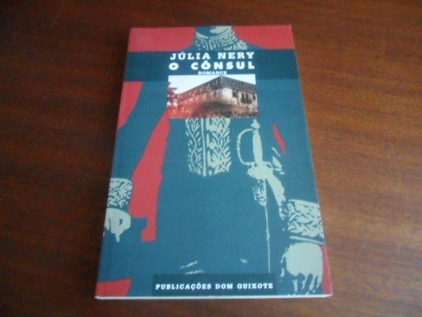 """""""O Cônsul"""" de Júlia Nery 1ª Edição de 1991"""