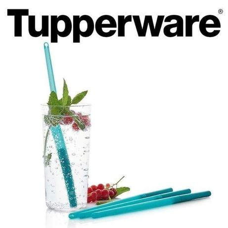 Tupperware Palhinha Eco Straw Azul