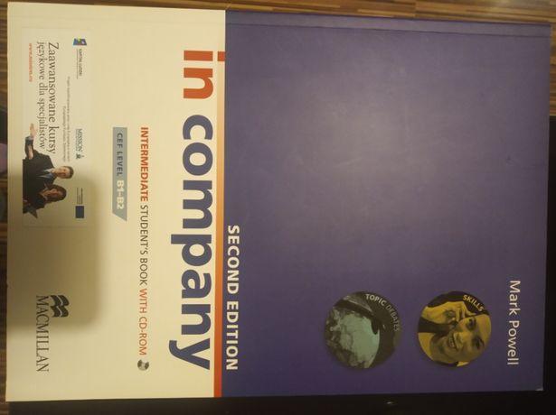 """Podręcznik """"IN COMPANY"""" B1-B2 język angielski"""