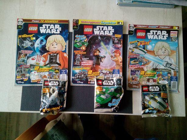 LEGO star wars 3 gazetki +ludziki