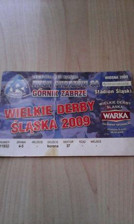 Wielkie Derby Śląska 2009 Ruch Chorzów-Górnik Zabrze