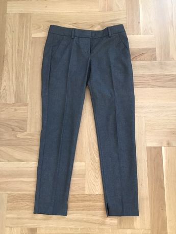 Szare spodnie Benetton r.36