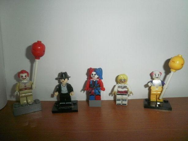 "Лего человечики."" Клоун Пиневайс"" ""Майкл Джексон"" ""Кукла Анабель"" 5-шт"