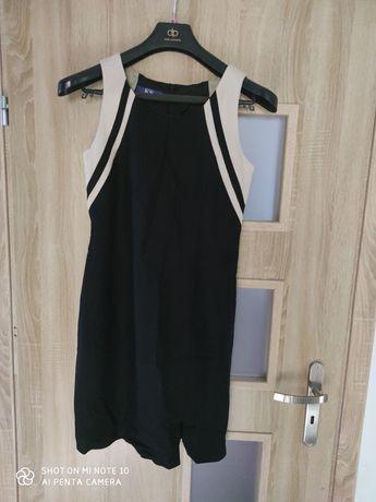 Sukienka ołówkowa czarna 38-40