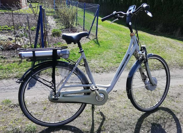 Rower elektryczny Holenderski batavus e-go