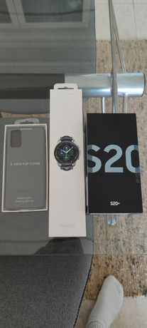 Mega pack S20+ , capa clearview e watch3