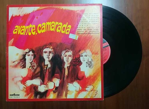 Disco de vinil (LP) - Avante Camarada