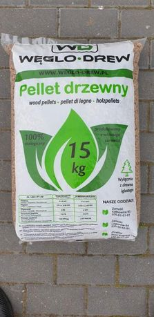 Pellet certyfikowany EN plus A1 z dostawą i rozładunkiem HDS