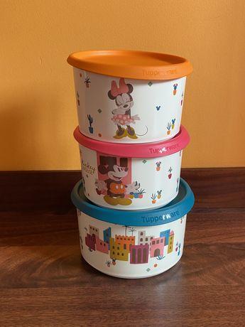 Tupperwares coleçao mickey e minie (novos e embalados)
