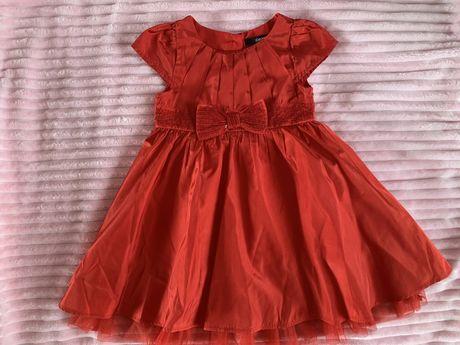Платье красное georg