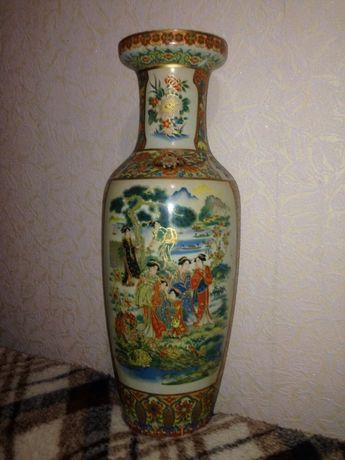 Японская ваза Сацума