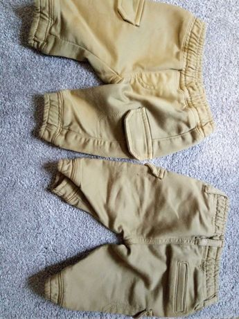 Spodnie/bojówki dla bliźniaków
