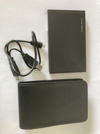 Caixa de Disco SATA Coolermaster USB2.0