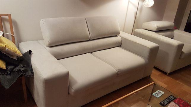Sprzedam komplet sofa+fotel+pufa