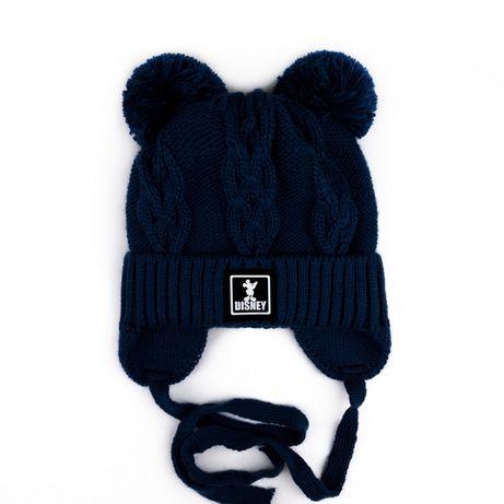 Зимняя вязанная шапка talvi disney 50-54