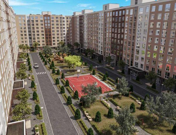 Продається квартира 38м2 в новобудові, 1 кімната, 6км від Києва