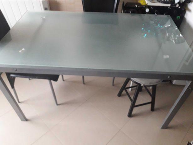 Mesa em vidro sala/cozinha