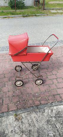 Wózek zabawka PRL zabytek