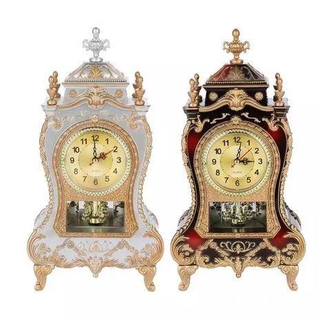 Часы барокко золото настольные для дома офиса бароко подарочные