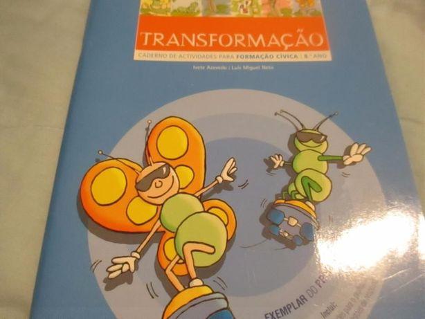 """Livro """" Transformação"""""""