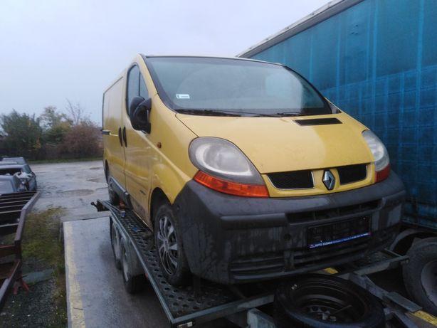Renault Trafic pas przedni chłodnice komplet 1.9 dci 101 km wysyłka