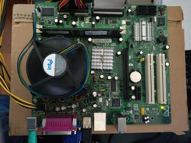 Intel D101GGC Socket 775 + Pentium D 935 3.2GHz + 512Mb DDR