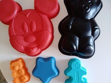 Formas bolos - Mickey, ursinho ...