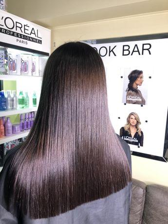 Окрашивание волос на дому