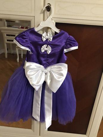 Платье, Новогоднее, нарядное, праздничное, 98, 104
