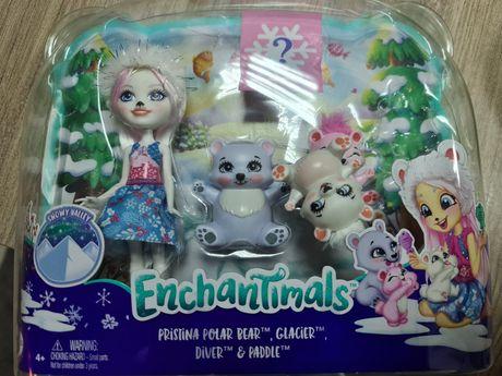 Nowy zestaw Enchantimals Zestaw z misiami polarnymi.Ekspresowa wysyłka