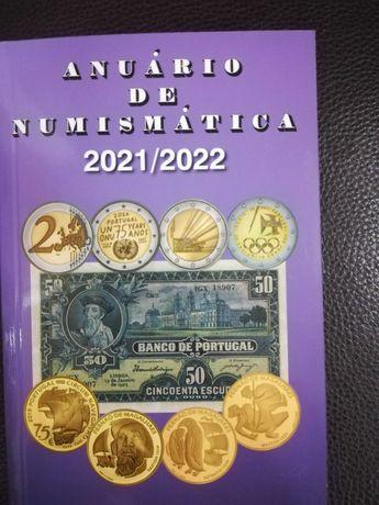 Livro Moedas - Anuário de Numismática 2021/2022 - Novidade