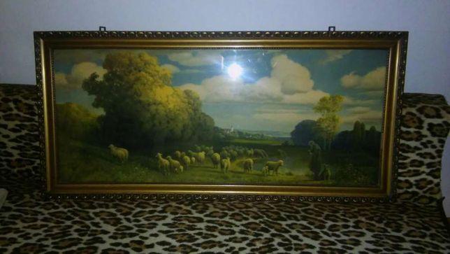 Pasterz owiec - obraz