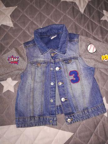 Katana kurtka jeansowa  H&M roz. 92