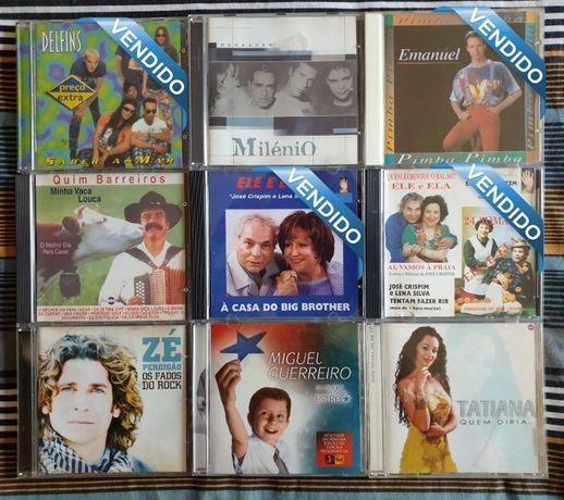CDs Pop Portuguesa Brasileira Novelas: 1xCD=8€ / 2xCD=14€ / 4xCD=20€