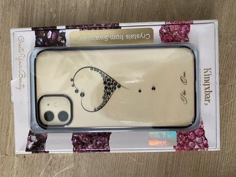 Etui iPhone 11 swarovski crystal