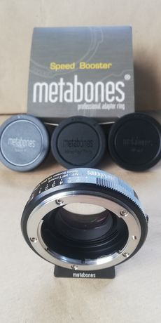 Metabones Speed Booster Ultra 0.71x Nikon G to Micro Four Thirds (BM3)