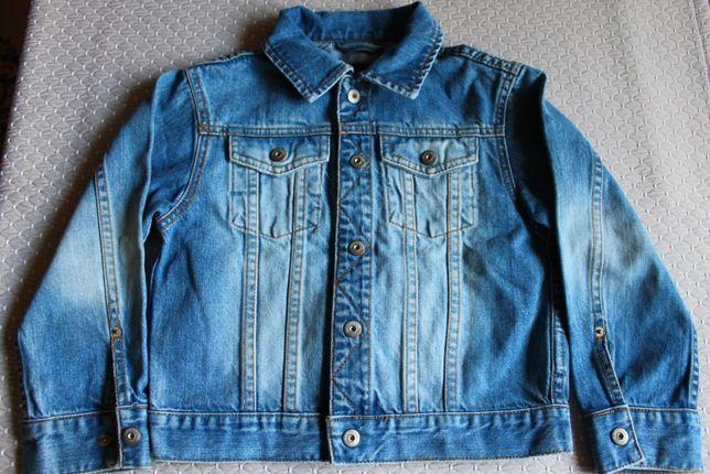 Стильная джинсовая куртка, пиджак h&m 116р.