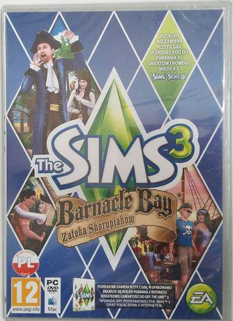 """""""The Sims 3 Zatoka skorupiaków"""" Gra PC - wersja pudełkowa PL FOLIA!!!"""