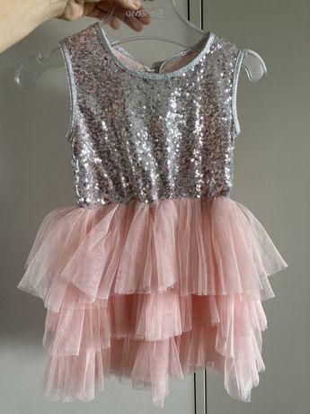 Prawdziwa balowa suknia