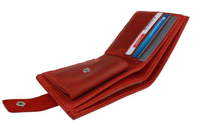 Кожаный женский кошелек портмоне натуральная кожа ручная работа