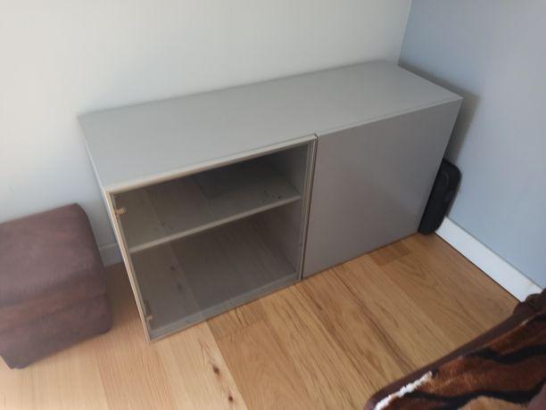 Szafka BESTA IKEA rtv pomalowana
