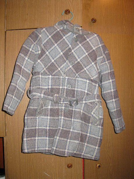 Пальто зимнее мальчуковое